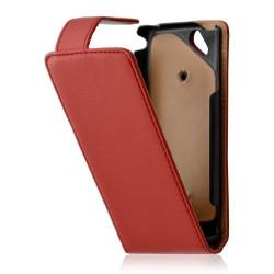 Housse coque étui pour Sony Ericsson Xperia Arc / Arc S couleur rouge + Film protecteur