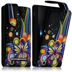 Housse Coque Etui Sony Xperia U Motif HF05