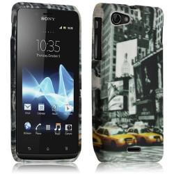 Housse étui coque gel pour Sony Xperia J Motif LM06