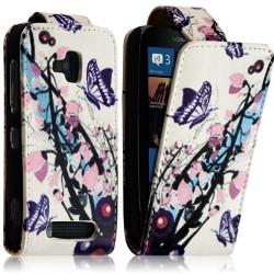 Housse coque étui pour Nokia Lumia 610 avec motif HF01