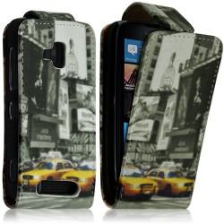 Housse coque étui pour Nokia Lumia 610 avec motif LM06