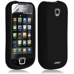 Housse étui coque silicone pour Samsung Galaxy Teos i5800 couleur