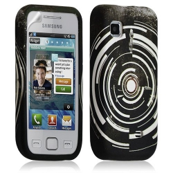 Coque étui en gel pour Samsung Wave 575 S5750 avec motif LM13