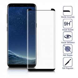 Protection Écran Vitre en Verre Trempé 3D Incurvé pour Samsung Galaxy S8
