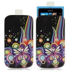 Housse coque étui pochette pour Nokia Lumia 800 avec motif HF05