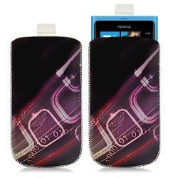 Housse coque étui pochette pour Nokia Lumia 800 avec motif HF07