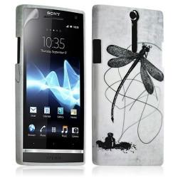 Housse coque étui gel pour Sony Xperia S motif LM01