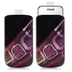 Housse coque étui pochette pour Samsung Player One S5230 avec motif HF07