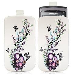 Housse coque étui pochette pour Samsung Wave S8500 avec motif HF01