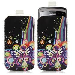 Housse coque étui pochette pour Samsung Wave 2 S8530 avec motif HF05
