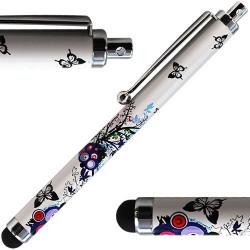 Stylet universel pour Ecran Tactile Et Capacitif avec motif HF01 pour Apple : iPad / iPad 2 / Nouvel iPad / iPad 2012 /