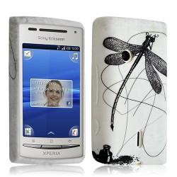 housse étui coque en gel pour Sony Xperia Ericsson X8 avec motif LM01