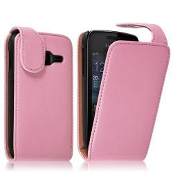 Housse coque étui pour Samsung Wave Y S5380 couleur rose pale
