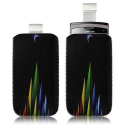 Housse coque étui pochette pour Samsung Wave 2 S8530 avec motif LM02