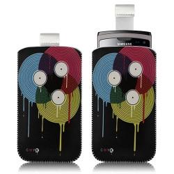 Housse coque étui pochette pour Samsung Wave 2 S8530 avec motif LM08