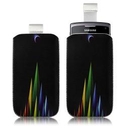 Housse coque étui pochette pour Samsung Wave 3 S8600 avec motif LM02