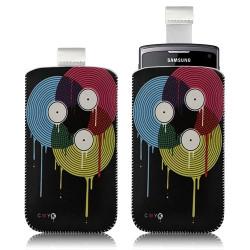 Housse coque étui pochette pour Samsung Wave 3 S8600 avec motif LM08