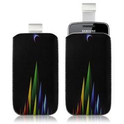 Housse coque étui pochette pour Samsung Wave Y S5380 avec motif LM02
