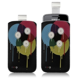 Housse coque étui pochette pour Samsung Wave Y S5380 avec motif LM08