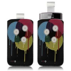 Housse coque étui pochette pour Samsung Wave 578 S5780 avec motif LM08