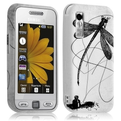 Housse coque étui en gel pour Samsung Player One S5230 avec motif LM01