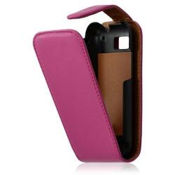 housse coque étui pour Motorola Defy couleur rose fuschia + Film protecteur