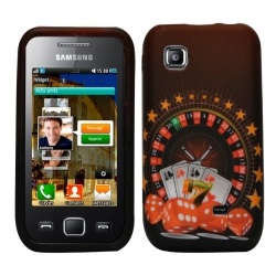 gel silicone housse etui coque pour Samsung S5750 Wave 575