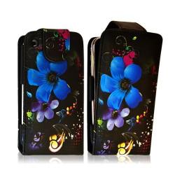 Coque étui pour Apple Iphone 3G avec motif HF16+ film de protection
