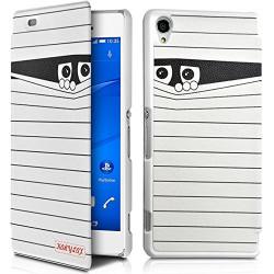 Coque Etui à rabat porte-carte motif SC04 pour Sony Xperia Z3 + Film de protection
