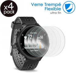 Verre Fléxible Dureté 9H pour Montre connectée Samsung Gear 2 R380 [Pack x4]