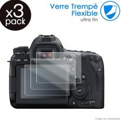 Verre Fléxible Dureté 9H pour Canon EOS M6 Mark II (Pack x3)