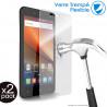 Verre Fléxible Dureté 9H pour Smartphone Lenovo A6 Note (Pack x2)