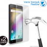 Verre Fléxible Dureté 9H pour Smartphone Logicom Le Moov 2 (Pack x2)