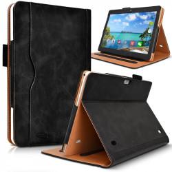 Housse Etui de Protection Support Noir pour Tablette Tactile Acepad A121 10,1 Pouces