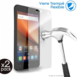 Verre Fléxible Dureté 9H pour Smartphone Blu R2 LTE (Pack x2)