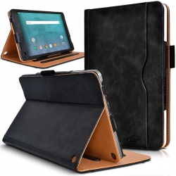 Housse Etui de Protection Support Noir pour Tablette Essentielb Smart'Tab 1005