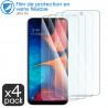 Verre Fléxible Dureté 9H pour Xiaomi POCO X3 NFC (Pack x4)