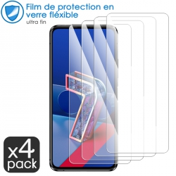 Verre Fléxible Dureté 9H pour ASUS ZenFone 7 (Pack x4)