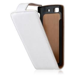 Housse coque étui pour Samsung Wave 3 S8600 couleur blanc