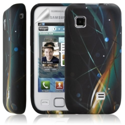 Housse coque étui en gel pour Samsung Wave 575 S5750 avec motif HF10