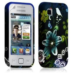 Housse coque étui en gel pour Samsung Wave 575 S5750 avec motif HF09
