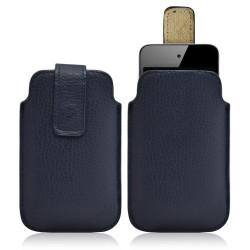 Housse coque étui pochette bleu pour Apple Ipod Touch 4G