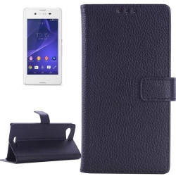 Etui de Protection Portefeuille Support Motif pour Sony Xperia E3