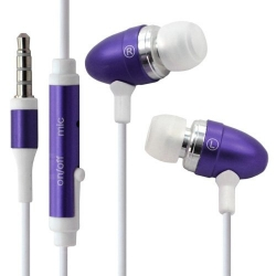 Kit piéton main libre couleur violet compatible HTC : Radar / Rhyme G20 / Salsa / Sensation / Wildfire S / Wildfire G8 / Sensat