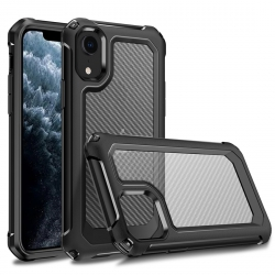 Coque Protection maximale Robuste Anti-chocs Noir pour Apple iPhone XR
