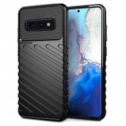 Coque Protection maximale Robuste Anti-chocs Rouge pour Samsung Galaxy S10 Plus