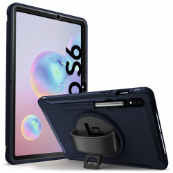 Coque Protection Intégrale Support (Noir) pour Samsung Galaxy Tab S6 10.5 SM-T860