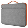 Sacoche Housse de Protection (M-Gris/Orange) pour Apple MacBook Pro 16""