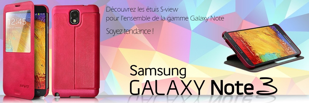 Etui S-view Samsung Galaxy